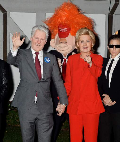 Mais le couple de la soirée était sans conteste Katy Perry et Orlando Bloom en Hillary et Bill Clinton !