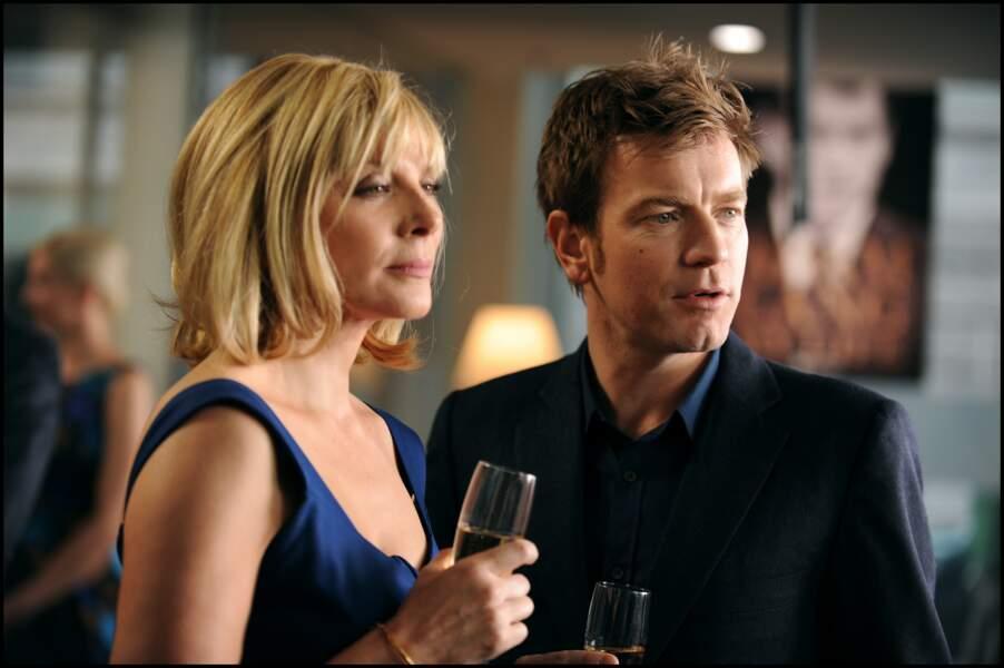 Depuis, l'actrice poursuit sa carrière, ici dans The Ghost Writer avec Ewan McGregor (2010)