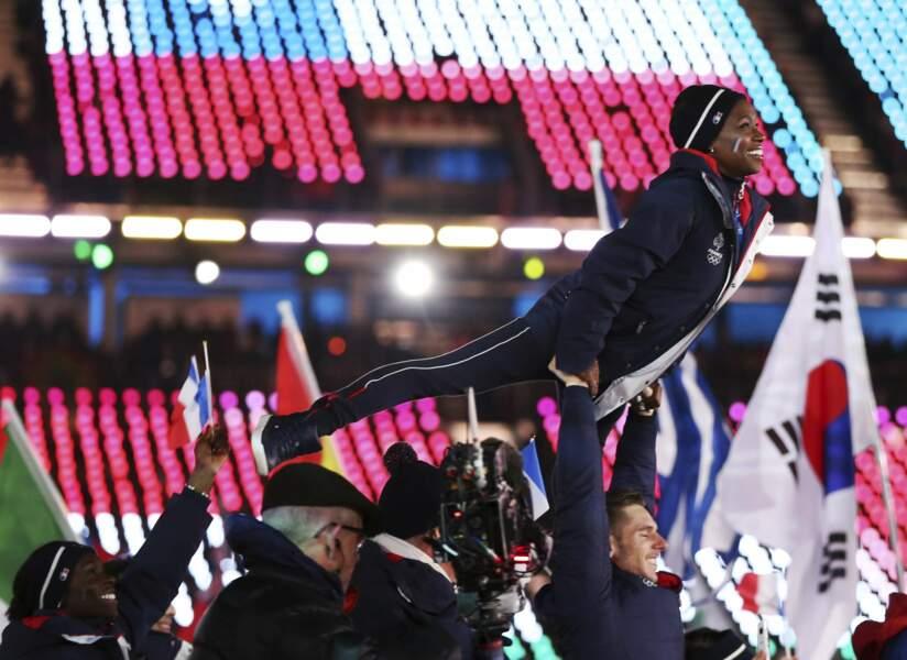 la délégation française semblait avoir des ailes