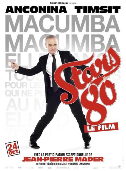 Jean-Pierre Mader a répondu à l'appel de Stars 80