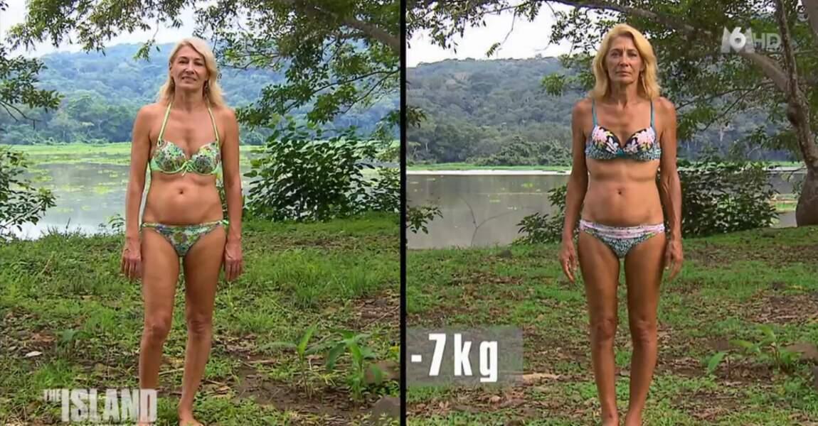 Muriel, la doyenne de l'équipe, a perdu 7 kilos