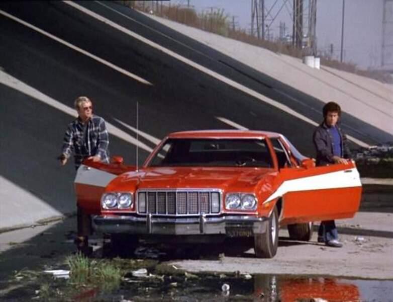 Starsky et Hutch. La Ford Gran Torino 1975 appartient aujourd'hui à un collectionneur privé américain