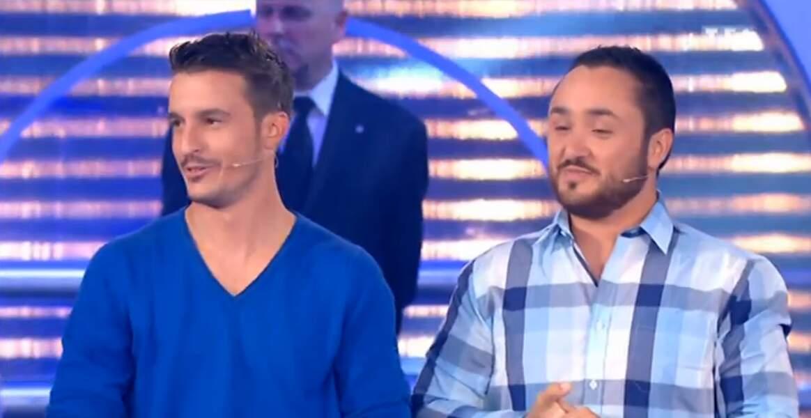 ... Et ce duo de Money Drop, l'équipe bleue !
