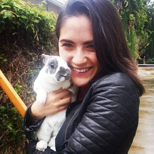 Bref, Isabelle Furhman sur Instagram, c'est pas beaucoup de ciné mais du cute, du sexy et de la sueur !