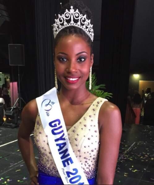 Ruth Briquet (24 ans) élue Miss Guyane