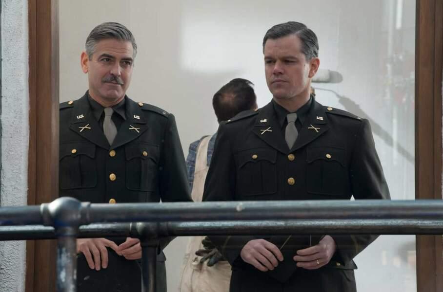 Pas besoin de détailler le succès de la carrière de George Clooney après Urgences (ici dans The Monuments Men)