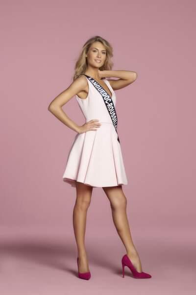 Alizee Rieu, Miss Languedoc-Roussillon