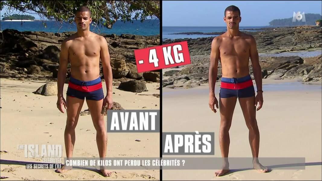 Après 15 jours sur l'ïle, Brahim Zaibat a perdu 4 kilos