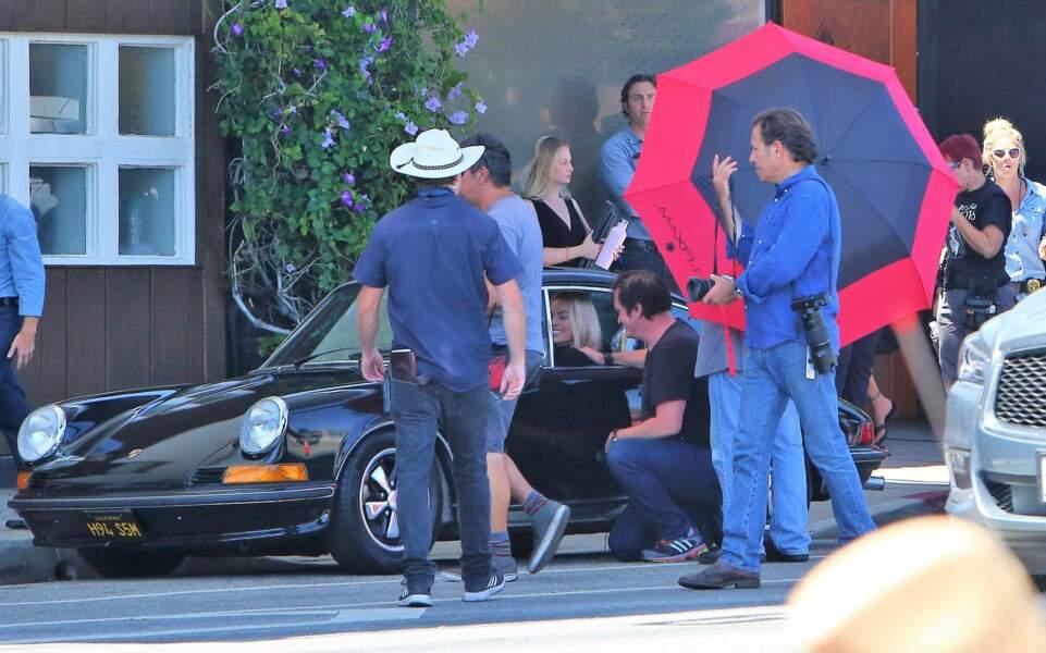 Tarantino est aux petits soins pour l'actrice de 28 ans