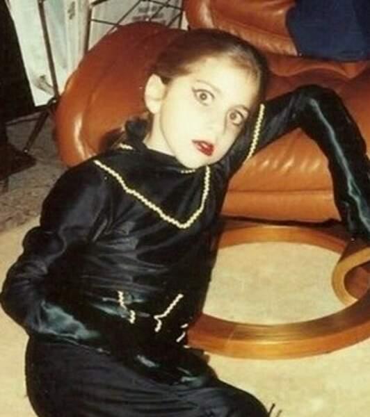 Lady Gaga : Même à 9 ans, elle faisait déjà peur