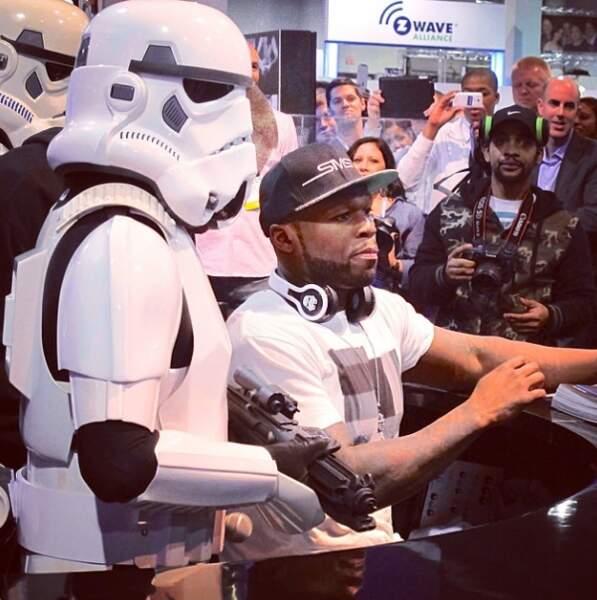 Tous fans de Star Wars... Même 50 Cent !