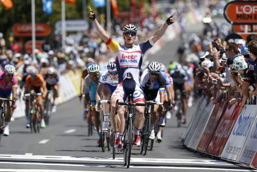 Il devra cependant se méfier de l'Allemand Peter Greipel, vainqueur de trois étapes l'an passé