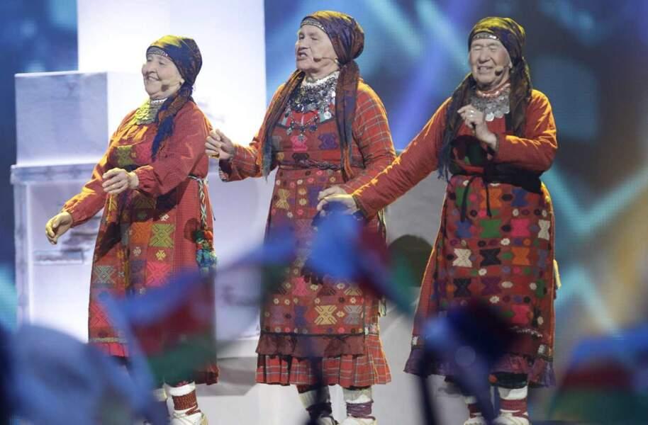 Vous vous souvenez des mamies russes ? Elles avaient sorti les tenues traditionnelles et marqué les esprits !