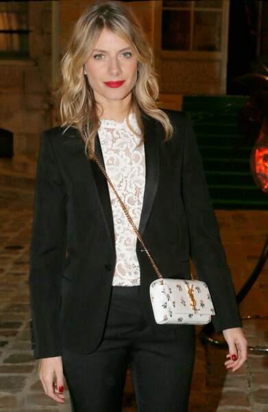 Mélanie Laurent a aussi fait le déplacement ce soir-là