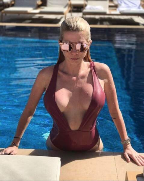 Bref, Jessica Thivenin repousse les limites du maillot de bain, toujours plus sexy !