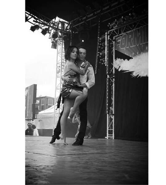 Pendant ce temps, Grégoire Lyonnet et Alizée continuent de danser et de s'aimer !