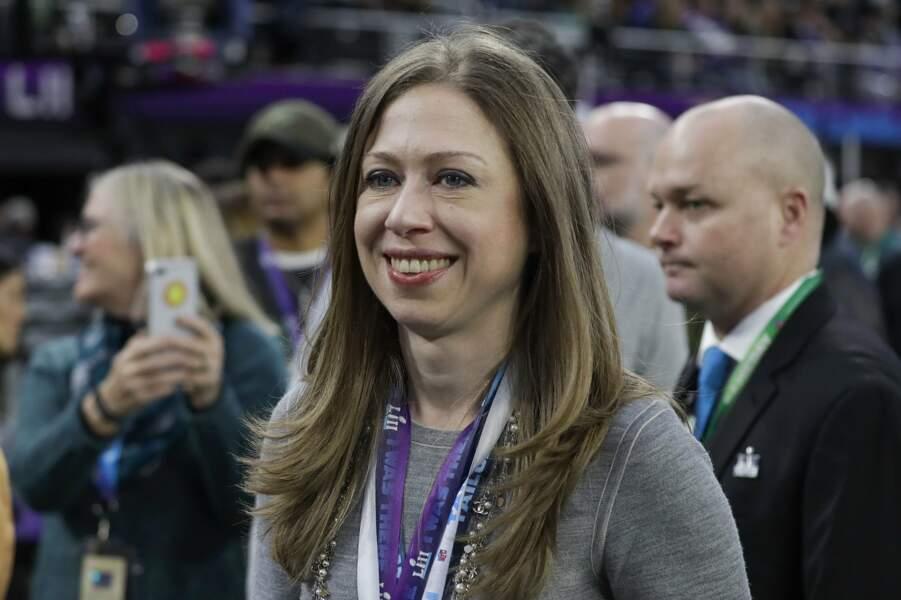 Chelsea Clinton, la fille de l'ancien président, était également présente