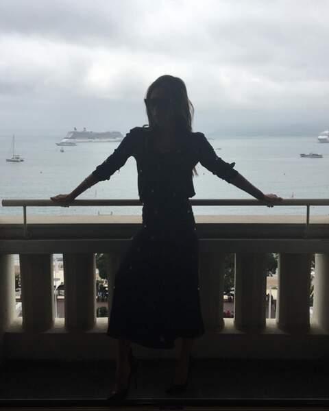 Ah au fait ! Victoria Beckham est bien arrivée à Cannes
