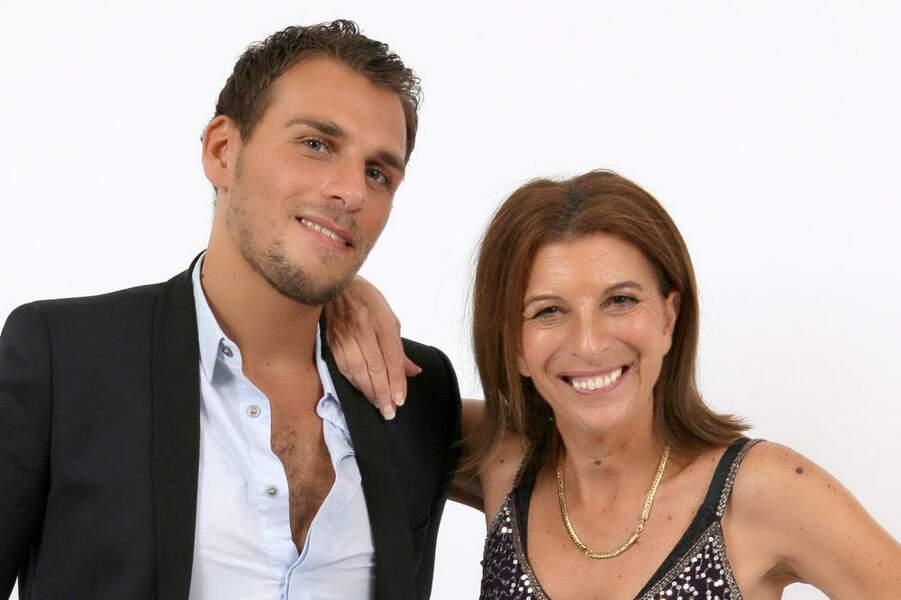 Alexandre et Linda, qui espère bien caser son fils