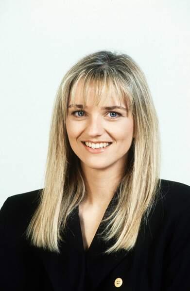 1985 : Valérie Maurice débarque sur Antenne 2 en tant que speakerine...