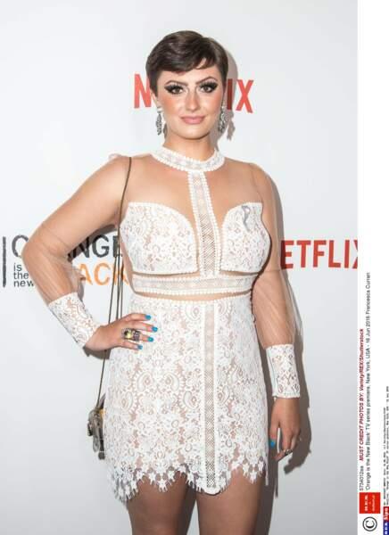 Difficile de reconnaître son actrice, Francesca Curran !