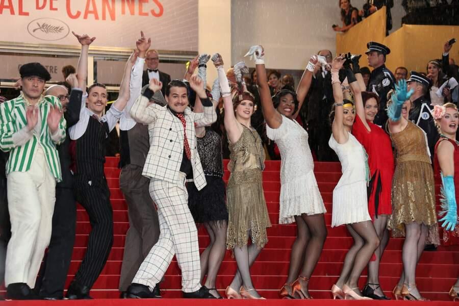 L'équipe de Gatsby le magnifique est venue en très très grand nombre !
