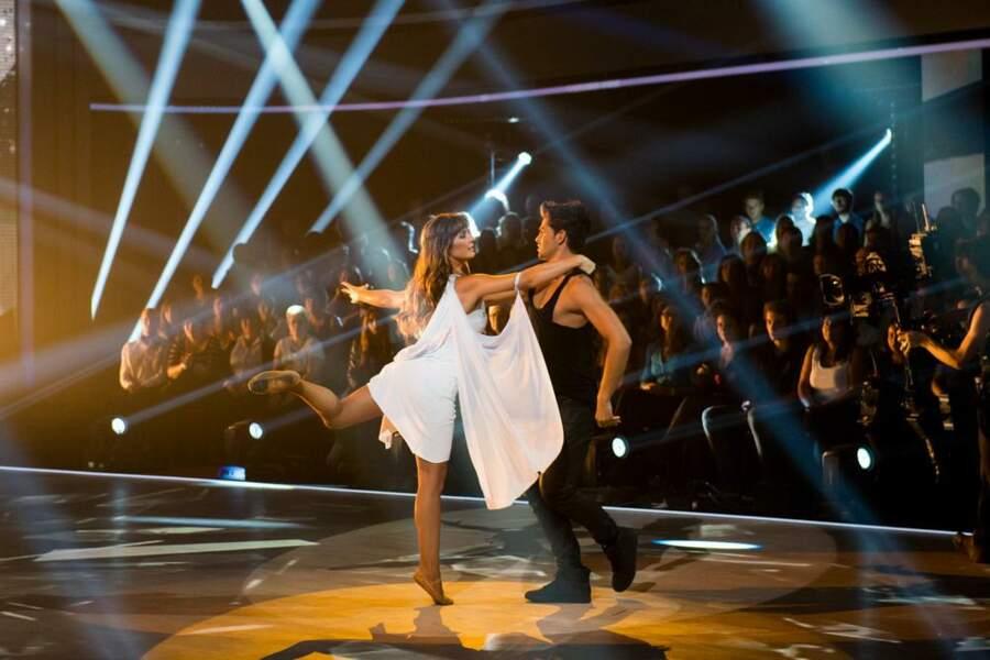... et la comédienne de l'assurance ! Dans la saison 4 de Danse avec les Stars, elle s'est éclatée !