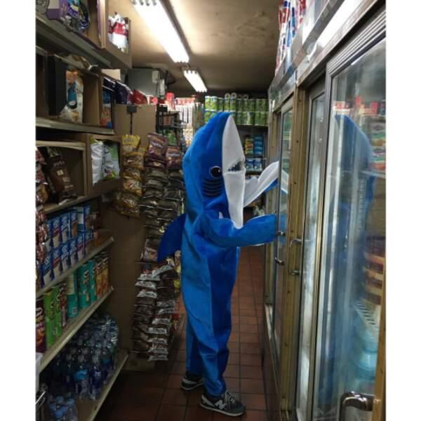 Milo, le fils de Liv Tyler, s'est inspiré des requins qu'on a autrefois vus aux côtés de Katy Perry.