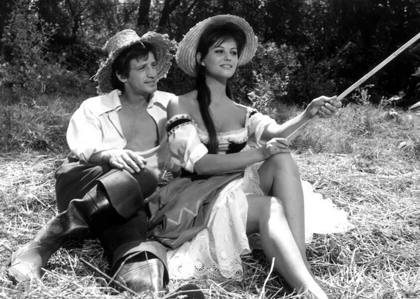 Cartouche (1962), avec Claudia Cardinale