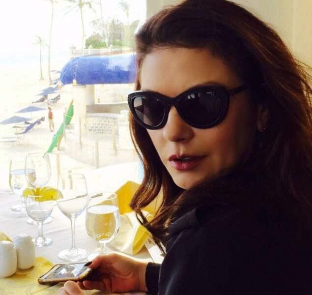 Et vacances incognito dans les Bermudes pour Catherine Zeta-Jones.