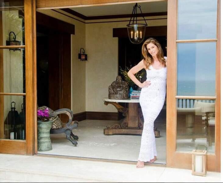 Et être chez elle, dans sa magnifique villa de Malibu.