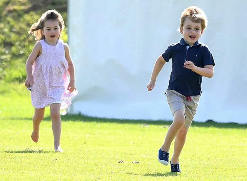 Charlotte est pressée de rejoindre George dès le 5 septembre dans cette chouette école !