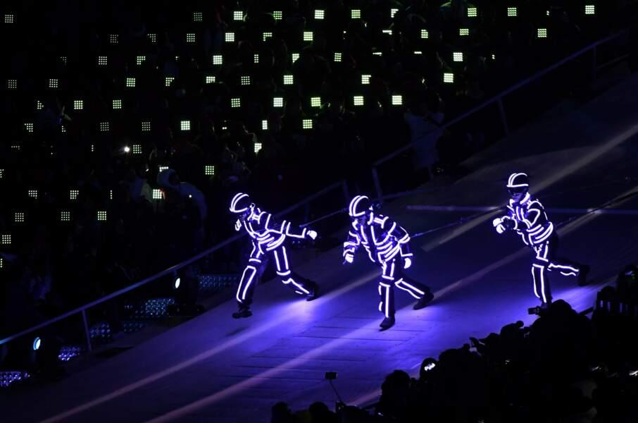 Les Darft Punk (coréens) sur glace