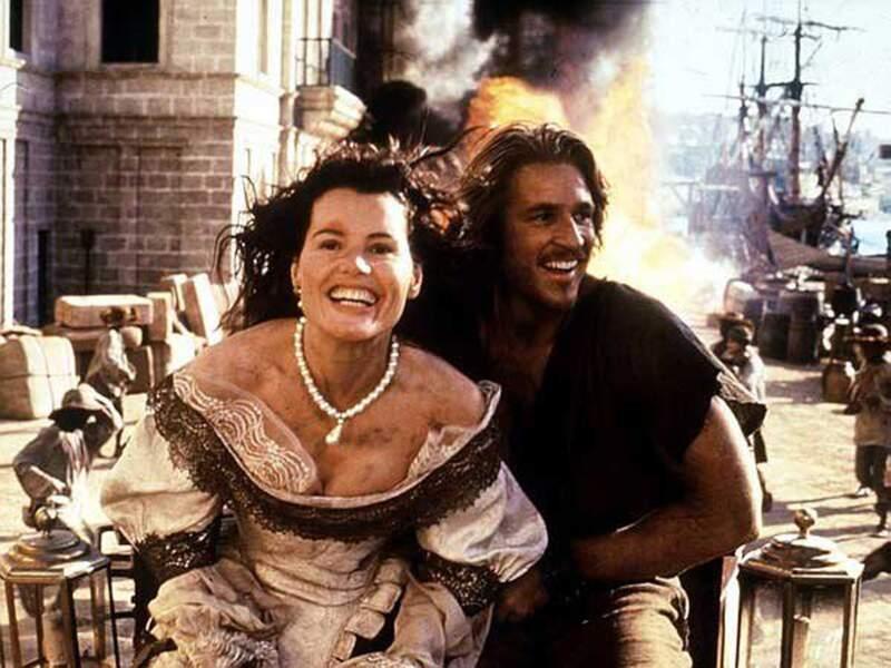 L'île aux pirates (1995) avec Geena Davis