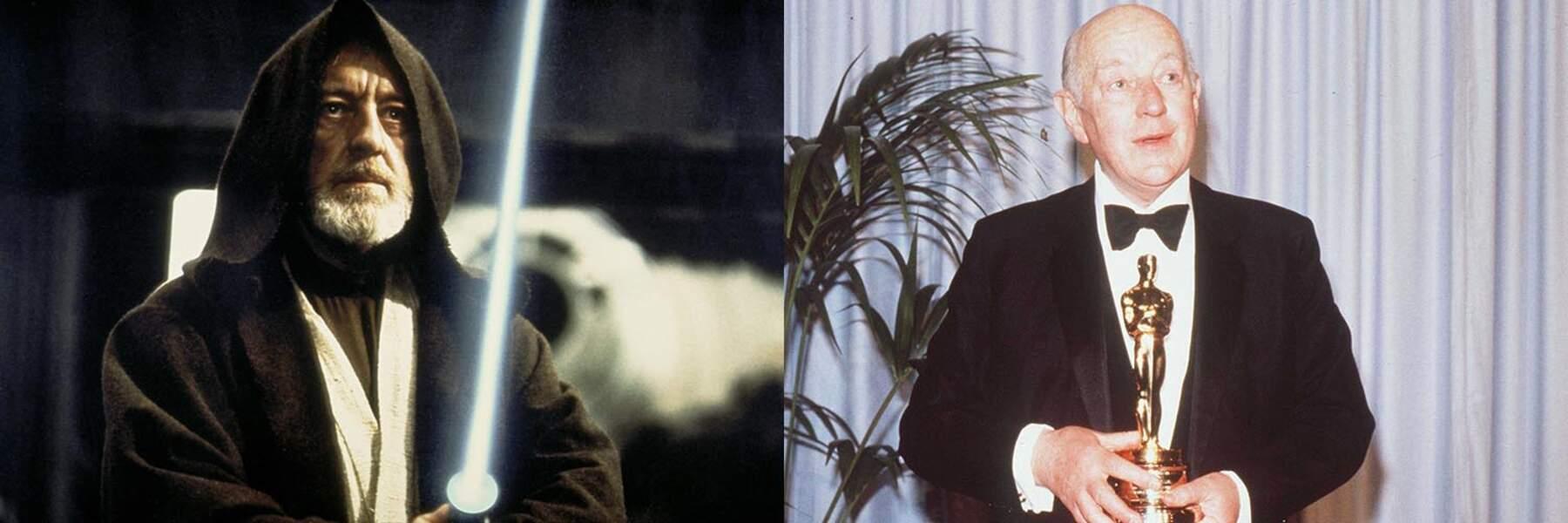 Alec Guiness, inoubliable Obi-Wan Kenobi entre 1977 et 1983, est décédé en août 2000