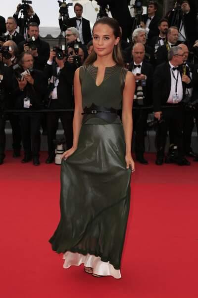 Alicia Vikander sublime sur le red-carpet !
