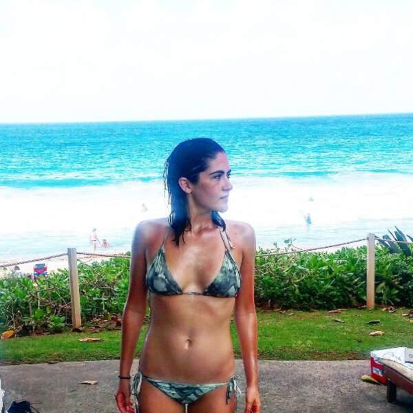 En bikini à Hawaii.