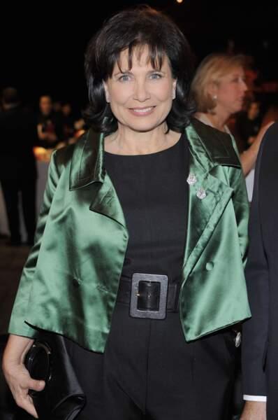 Pas de doute : Anne Sinclair sait mettre ses beaux yeux bleus en valeur ! (2011)