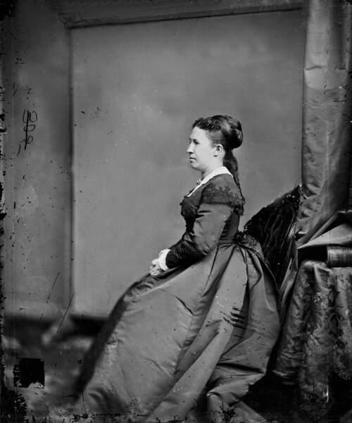 Julia Grant, épouse de Ulysse président entre 1869 et 1877, avait de l'ambition pour deux