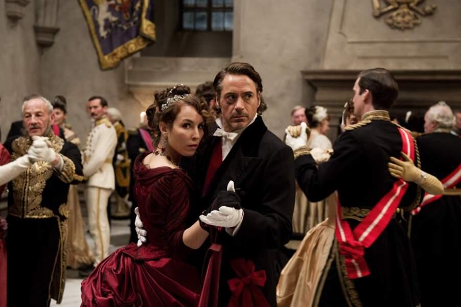 Changement de décor et de look pour Noomi Rapace en 2011 dans Sherlock Holmes : Jeu d'ombres