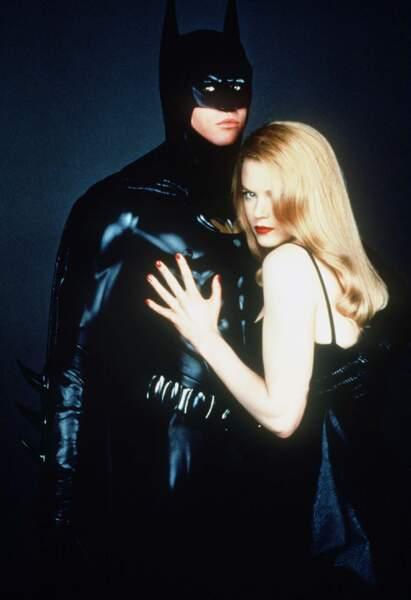 La même année, elle s'acoquine avec la plus célèbre des chauve-souris dans Batman Forever