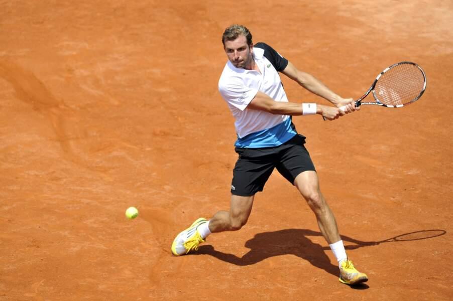 Le français Julien Benneteau s'est qualifié pour le 2ème tour en s'imposant 3 sets à 1 face à Ricardas Berankis