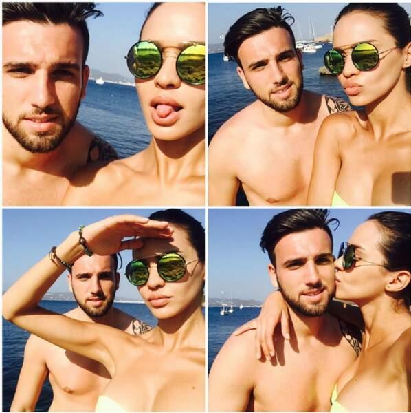 Selfies et poses lascives : les vacances de Leila sont à suivre sur son compte Instagram.