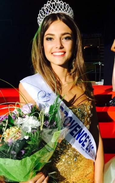 Voici Julia Courtes, Miss Provence 2015