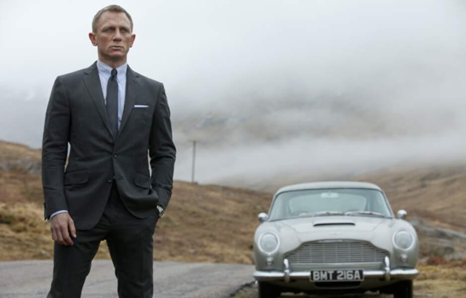 Daniel Craig, beau gosse dans Skyfall, le nouveau James Bond