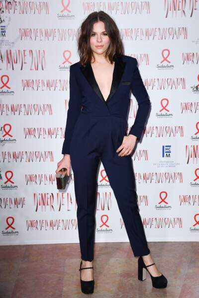 Morgane Polanski la fille de Roman Polanski et Emmanuelle Seigner est actrice comme sa maman