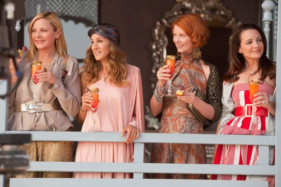 Après 6 saisons, la bande de copines fait son cinéma (Sex and the City 2, le film, 2010)