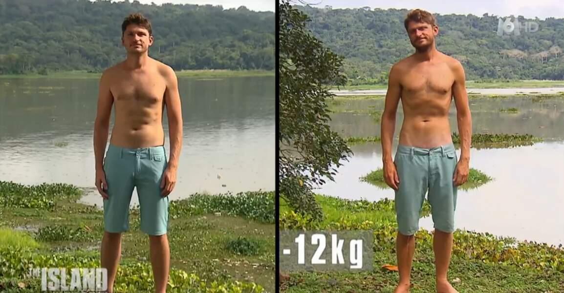 Moins 12 kilos pour Benjamin, le médecin du groupe des hommes