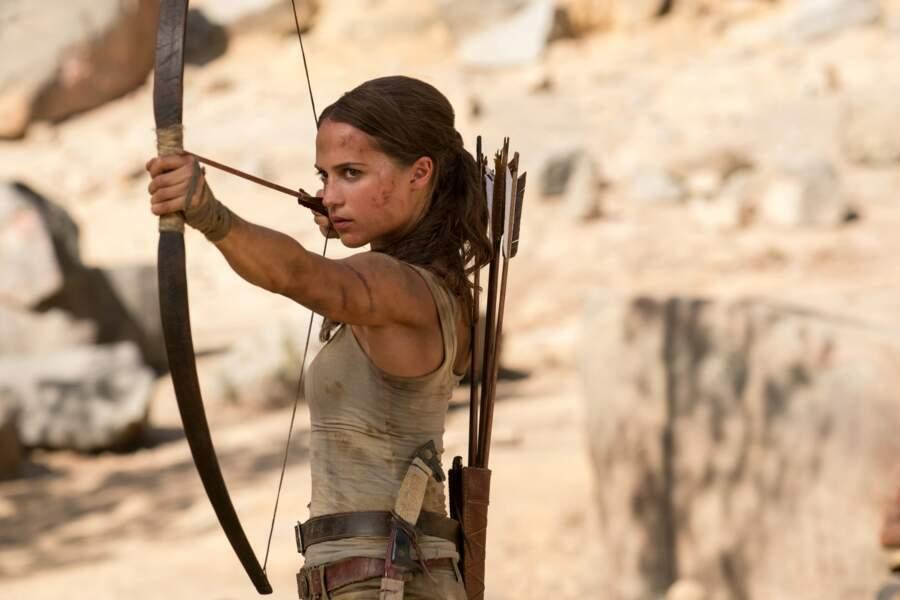En 2018, elle succède à Angelina Jolie et incarne... Lara Croft dans le nouveau film Tomb Raider