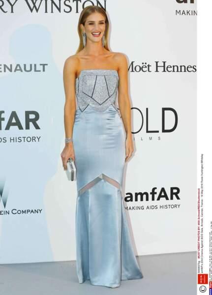 Rosie Huntington-Whiteley, la chérie de l'acteur Jason Statham